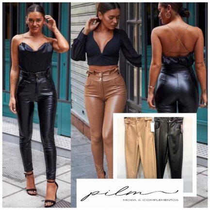 pantalon-efecto-piel-negro-cintura-alta-rizada-pitillo-pilm