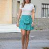 mini-falda-verde-aguamarina-plisada-con-riñonera-estilo-style-moda-low-cost-rebajas-barata-moda-primavera-verano-2020-pilm