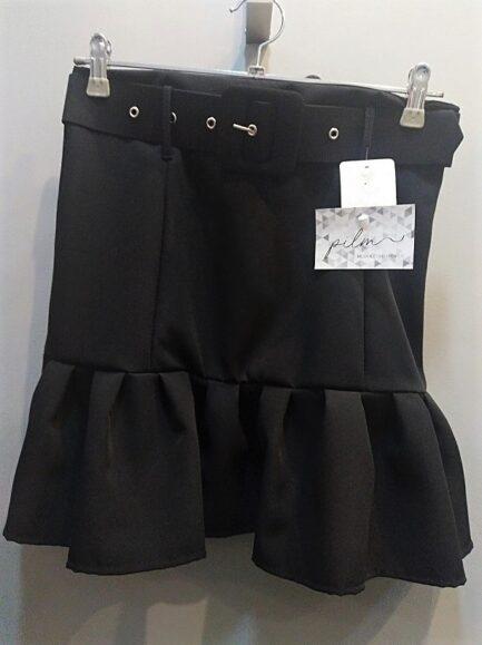 falda-negra-volante-corta-mujer-rebajas-barata-low-cost-elegante-fashion-sexy-pilm