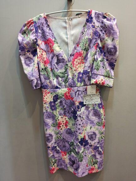 vestido-corto-flores-malva-lila-fiesta-vestir-novedades-moda-verano-2020