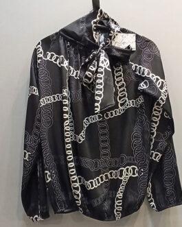 Blusa lazo cadenas