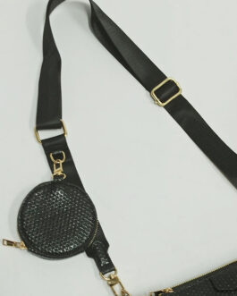 Bolso tres piezas negro