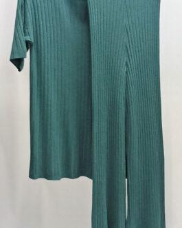 Conjunto punto pantalón jersey