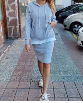 Conjunto sport falda y sudadera