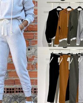 Conjunto sport pantalón sudadera bordados