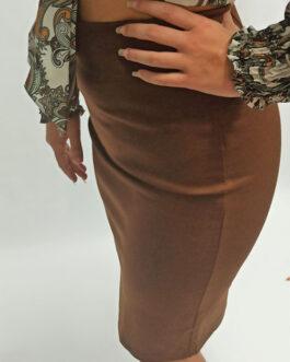 Falda sport tubo lapiz